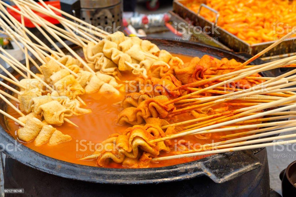 Odeng (Koreanisch Straße Essen) – Foto
