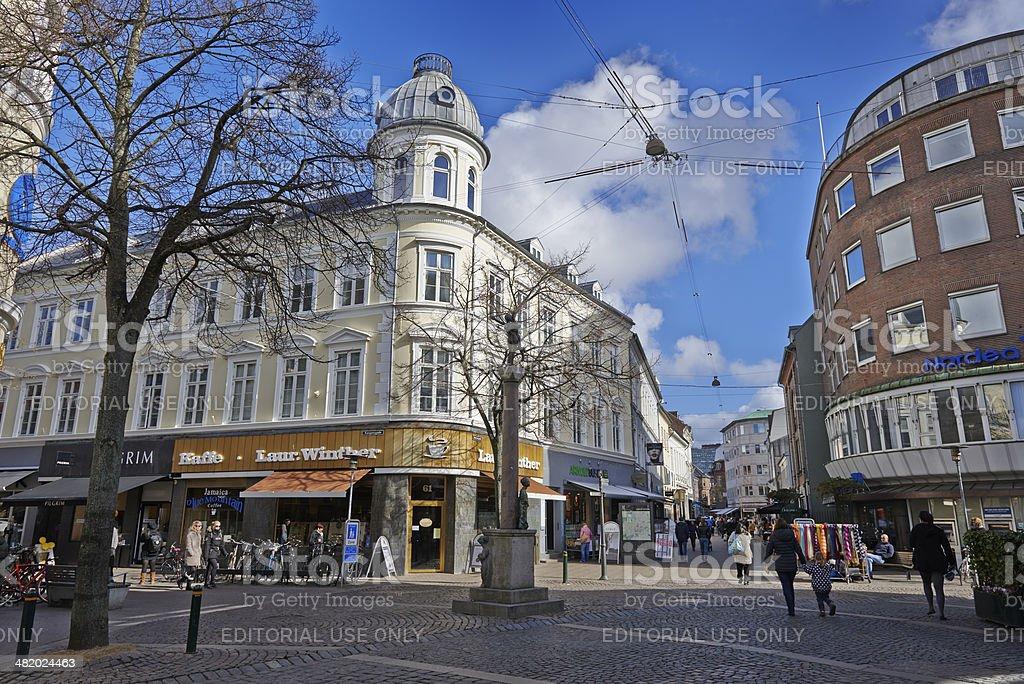 Odense stock photo
