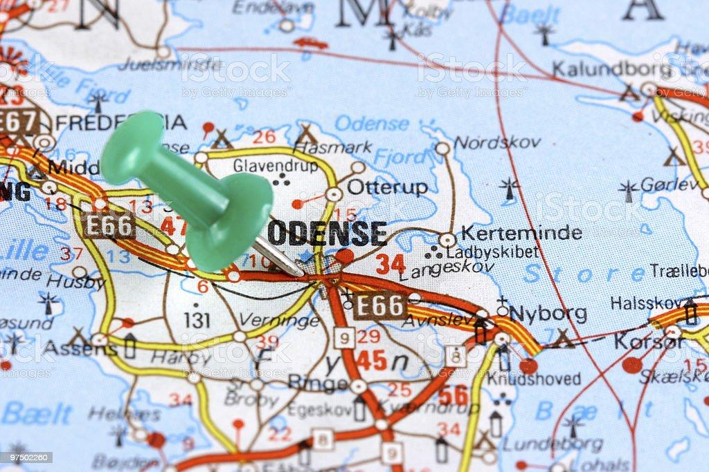 Odense royalty-free stock photo