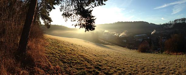 Odenwaldpanorama Im Mühltal – Foto