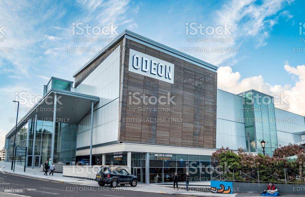 BH2 Odeon Cinema Complex in Bournemouth stock photo