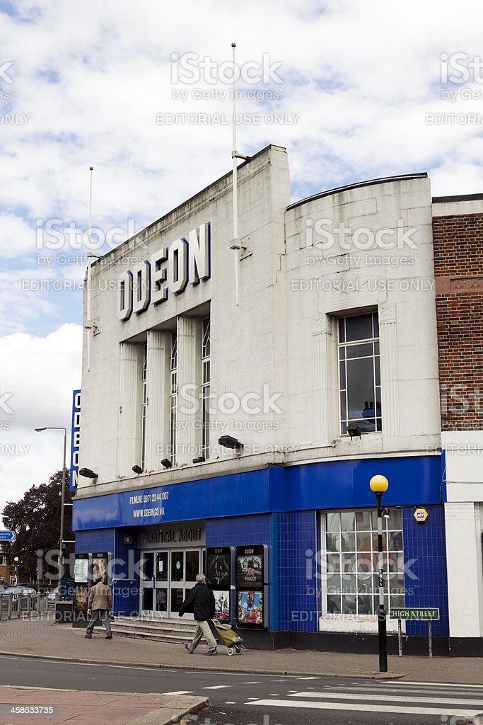 Odeon cinema stock photo