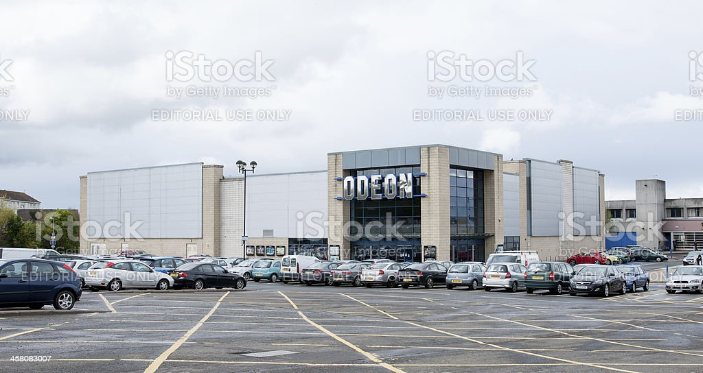 Odeon Cinema, Wester Hailes, Edinburgh stock photo
