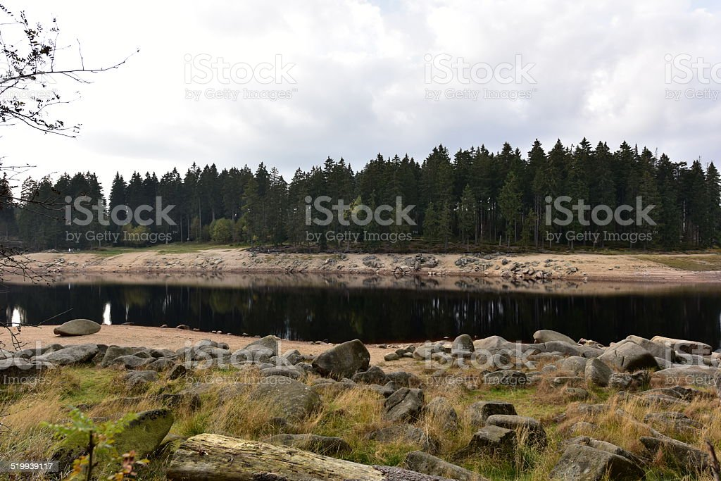 Oderteich in Harz. stock photo