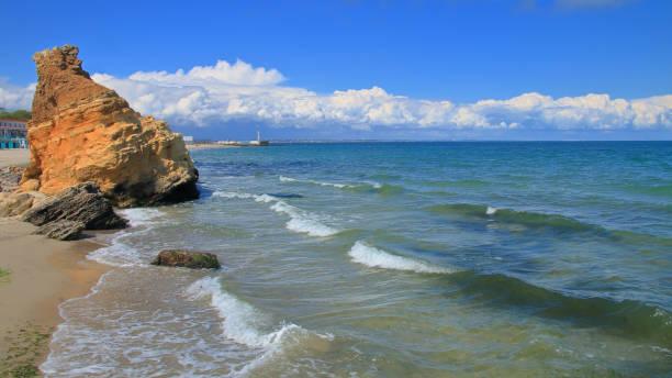 Odessa coast of the Black Sea.
