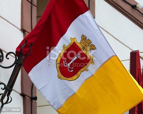 istock Odessa flag, Ukraine. 627118536