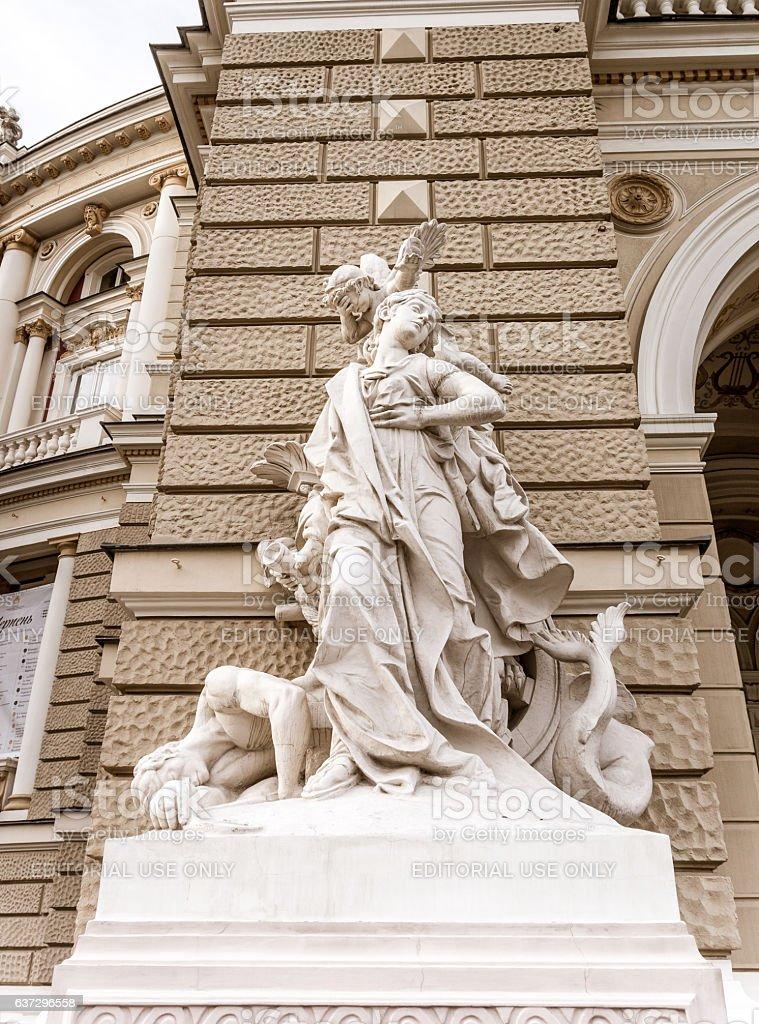 Odessa Opera house. High art stock photo