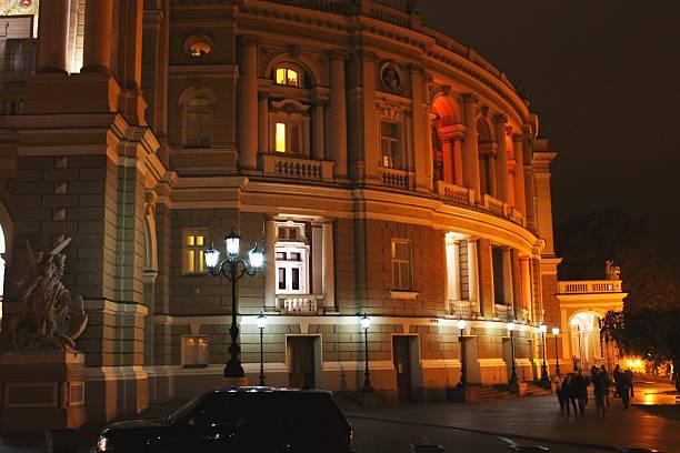odessa oper - schmidt theater stock-fotos und bilder