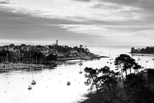 Rivière Odet et port de Benodet - Photo