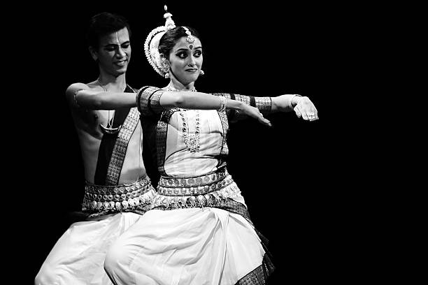 odissi - classical style stock photos and pictures
