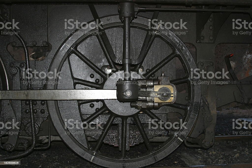 odl locomotive wheel royalty-free stock photo