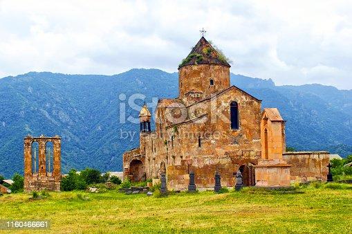 Odzun Monastery Armenia,church before restoration,year 2009.