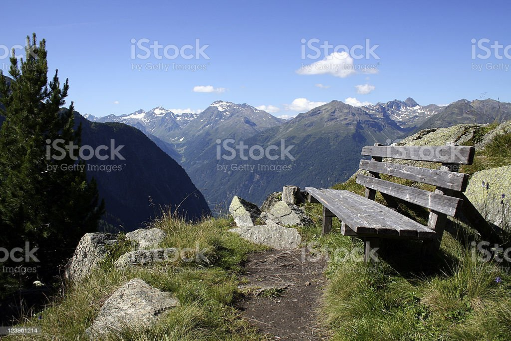 Oetztaler Alpen stock photo