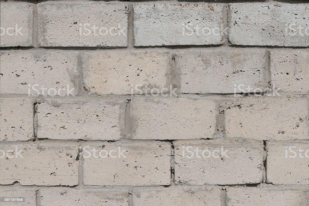 of aggregate concrete masonry units photo libre de droits