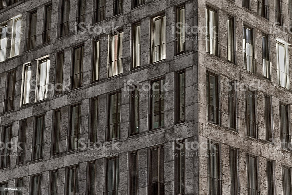 HDR of Businesshouse stock photo
