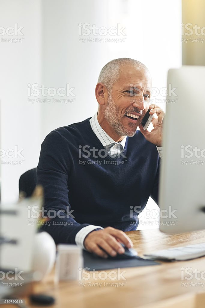 Of course I'm available to talk! stock photo