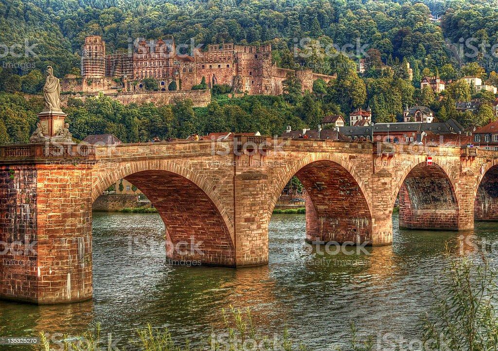 HDR of Heidelberg in Germany stock photo