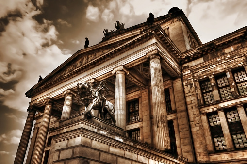 HDR of Konzerthaus once called Schauspielhaus (Gendarmenmarkt) Berlin Germany