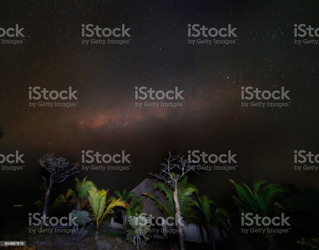 SKY of Madagascar stock photo