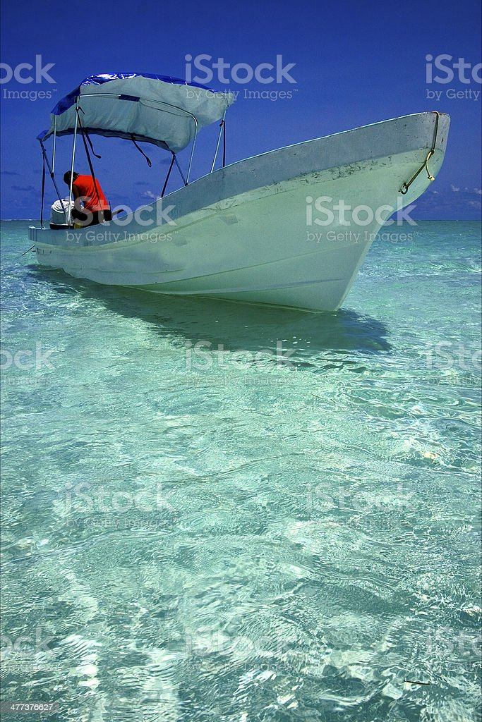 of sian kaan in mexico stock photo