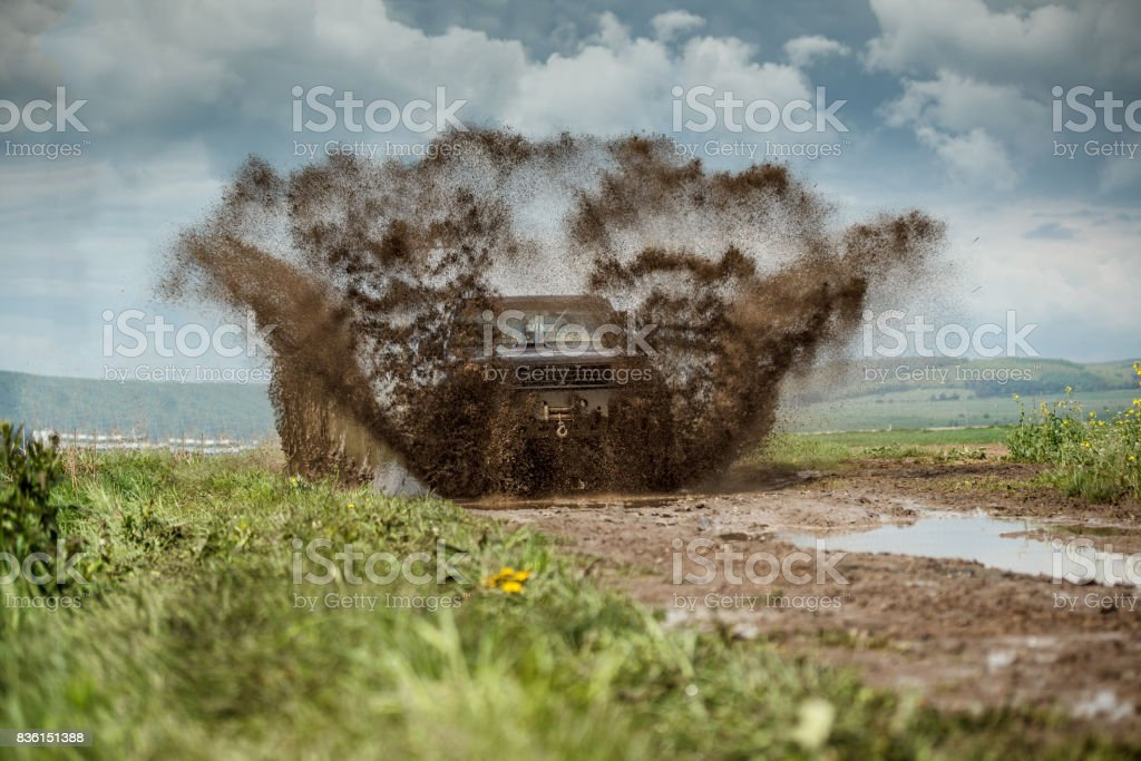 Off road stock photo