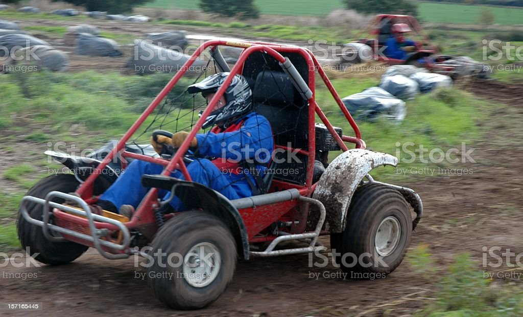 Off Road Race royalty-free stock photo