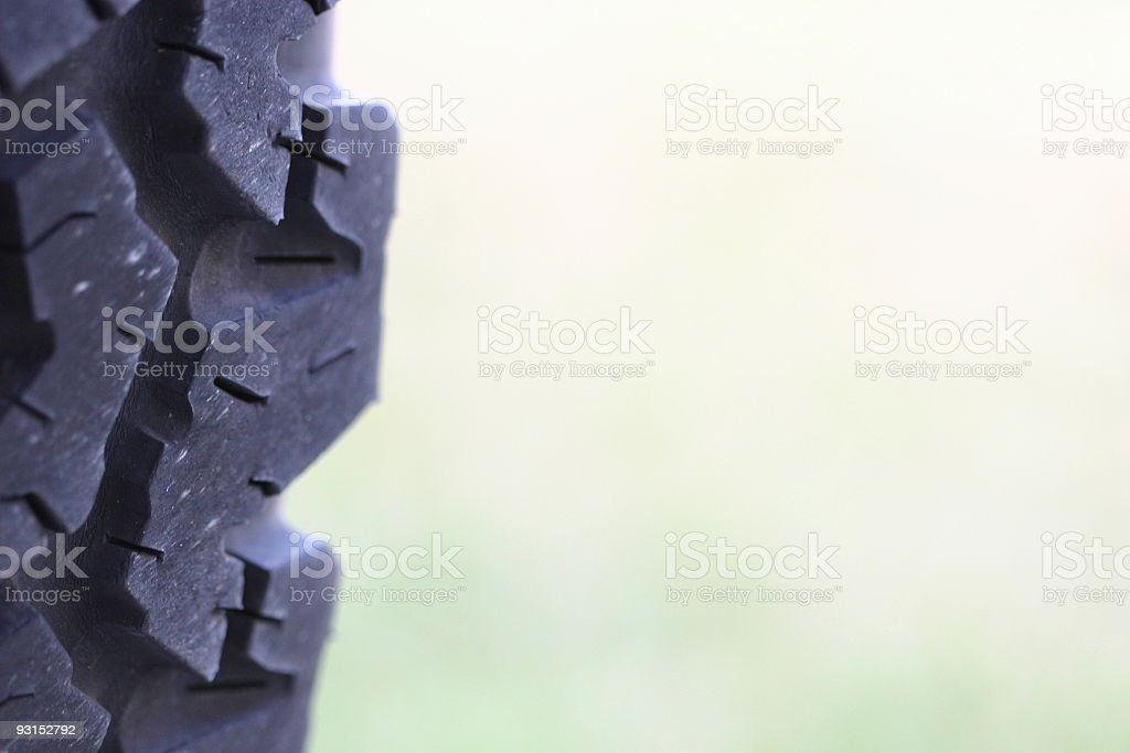 Off Road Tire stock photo