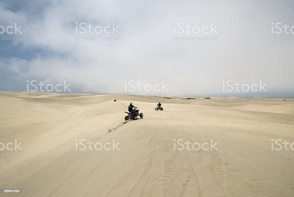 Off road vehicles at Pismo Beach Dunes.. photo libre de droits