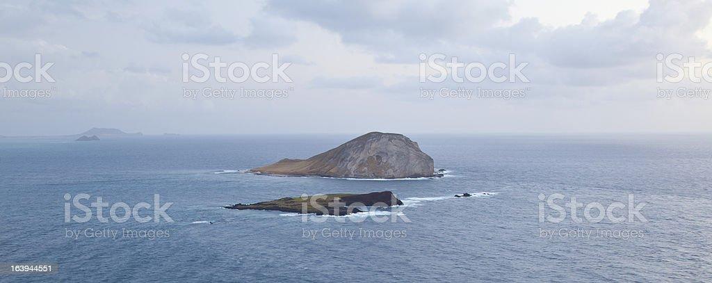 Off the Coast of Makapu'u royalty-free stock photo