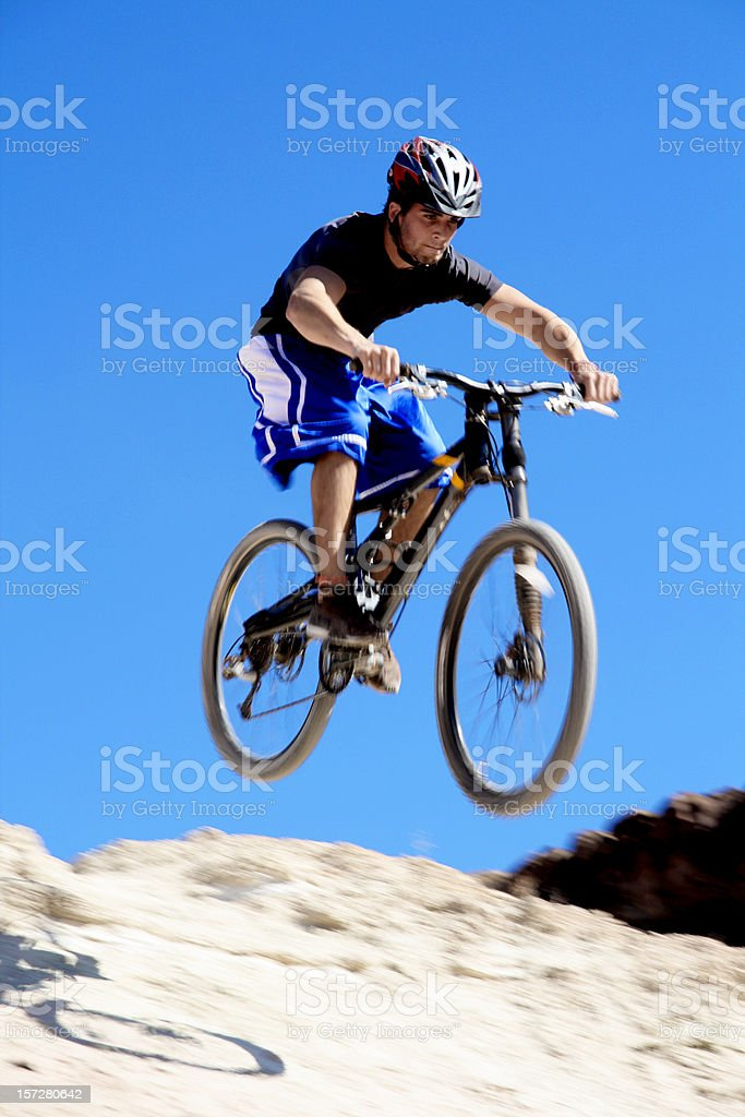 Off the Jump royalty-free stock photo