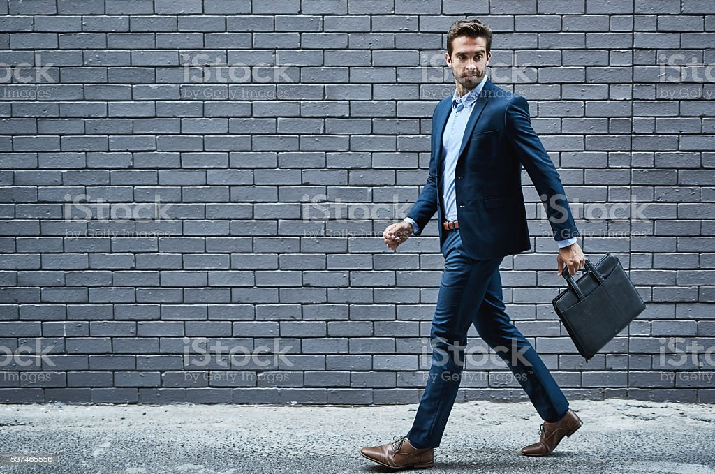 Off to bag some deals stock photo