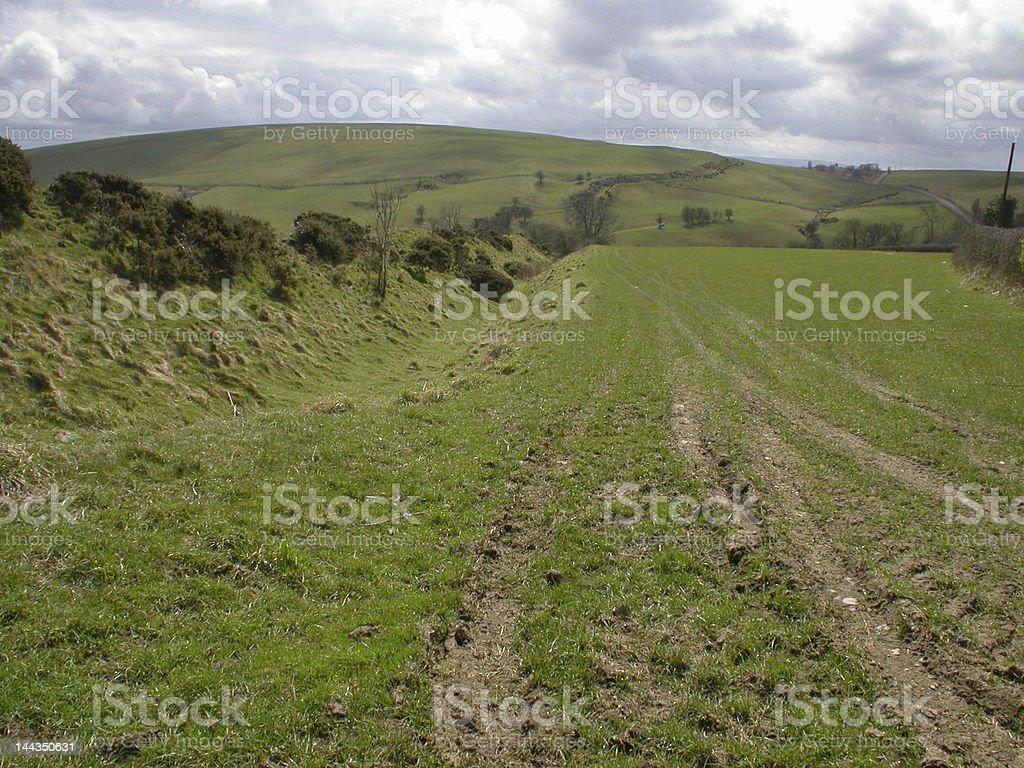 Offa's Dyke stock photo