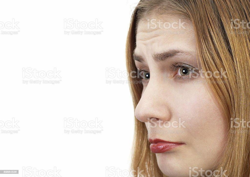 Требования потерпевшего девушка Стоковые фото Стоковая фотография