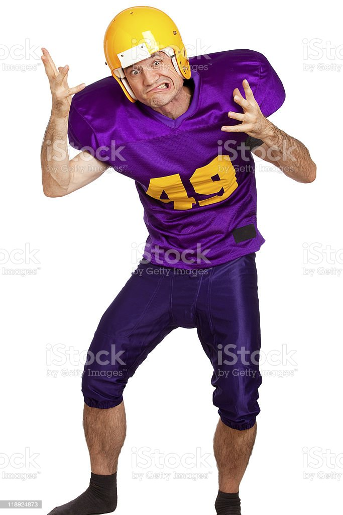 Offense-Player royalty-free stock photo