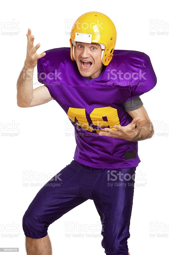Offensive Line royalty-free stock photo