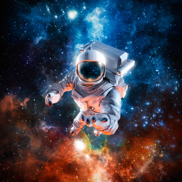 i offer you the stars - astronaut stock pictures, royalty-free photos & images