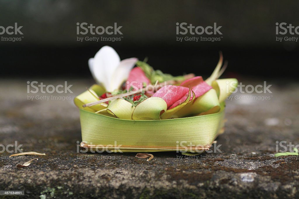 offerings stock photo