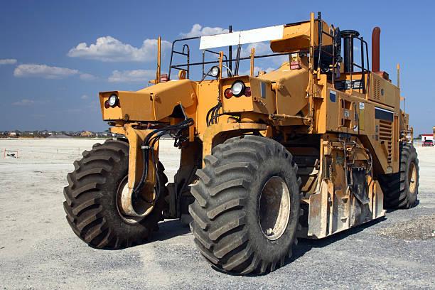 Off-highway Tractor stock photo
