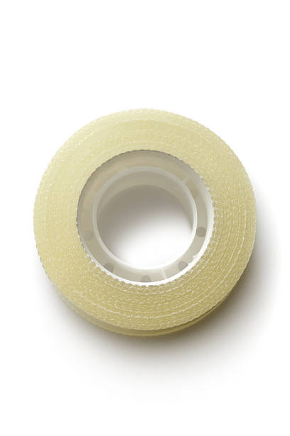 office: adhesive tape - adhesive tape stock photos and pictures