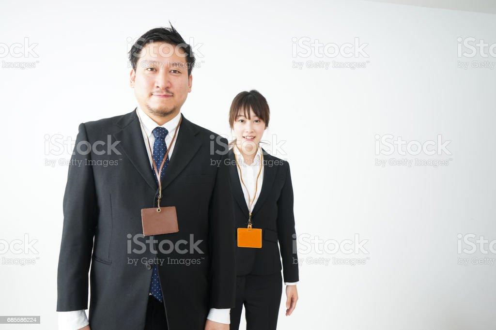 辦公室和商業人士 免版稅 stock photo