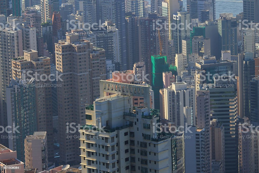 office and  residential building in Hong Kong photo libre de droits