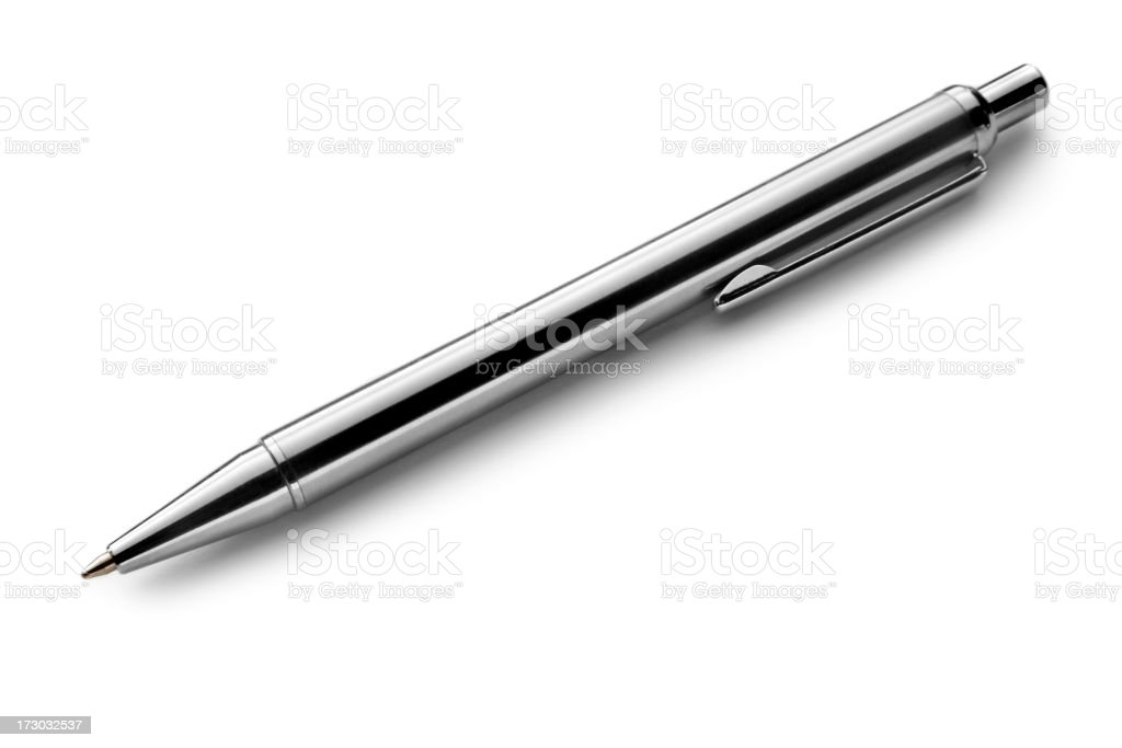 Office: Ballpoint Pen stock photo