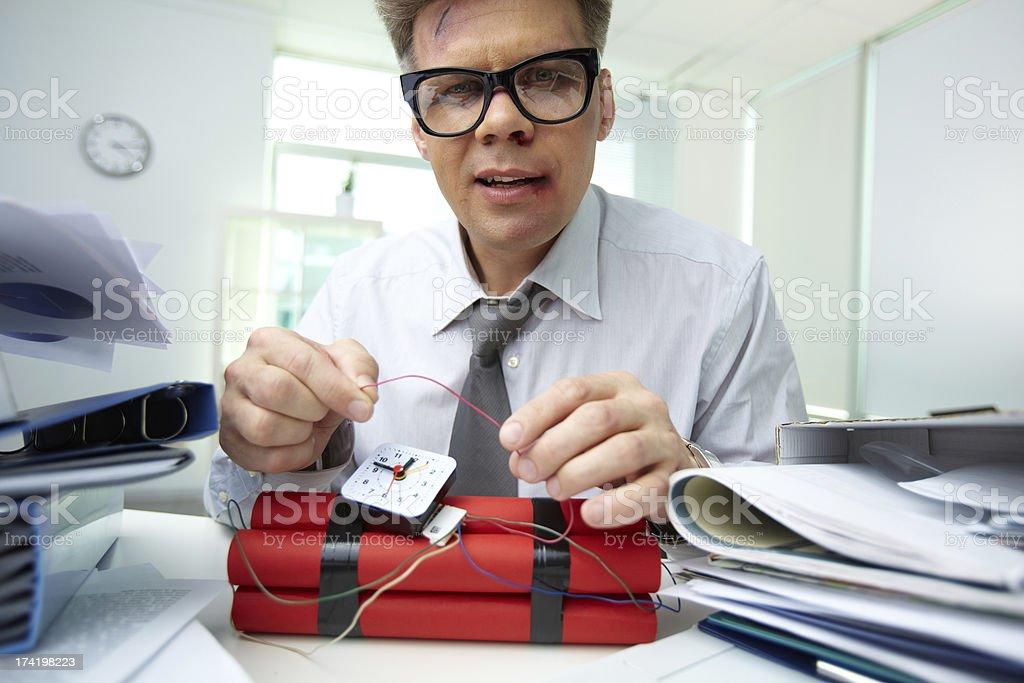 Office bandit royalty-free stock photo