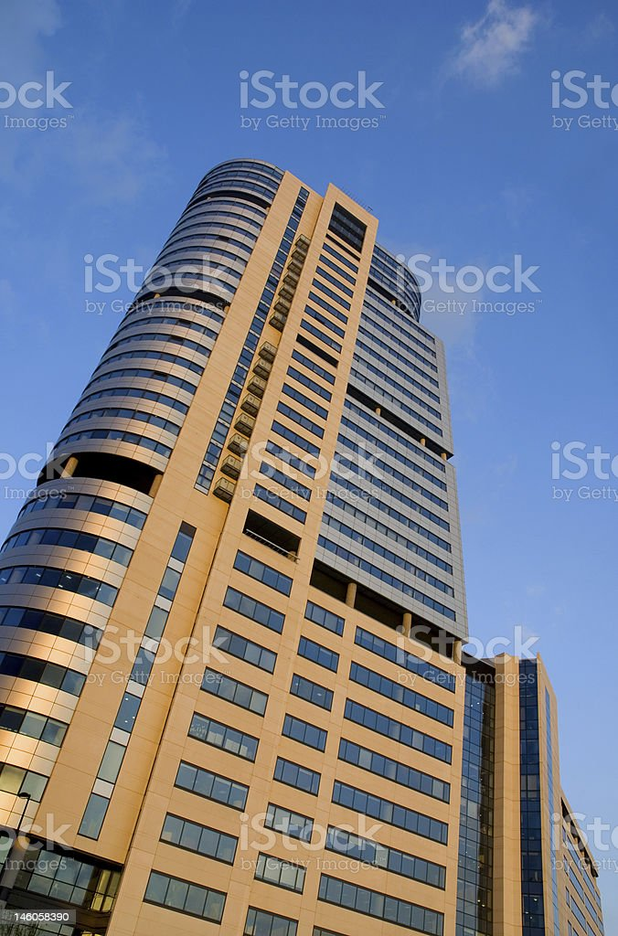 Office Block royalty-free stock photo