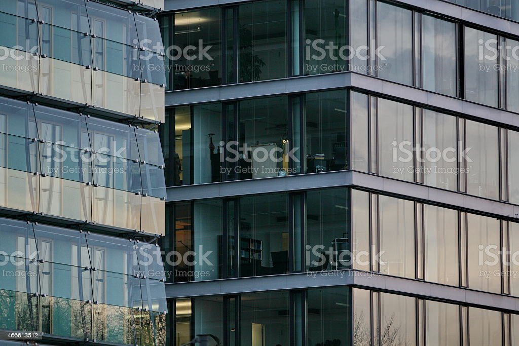 Office block stock photo