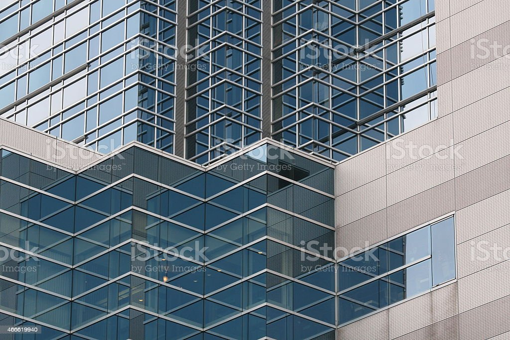Office block stock photo