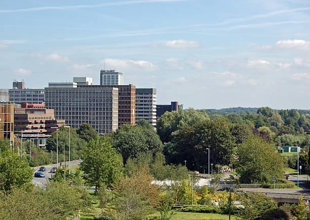 Office Blocks, Basingstoke Town Centre stock photo