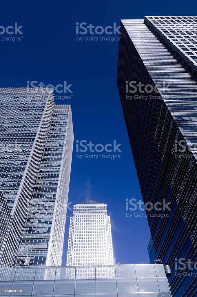 Office Blocks stock photo