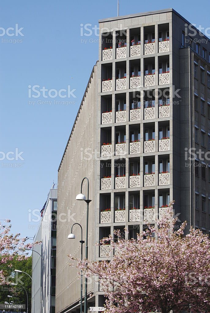 Office Blossoms stock photo