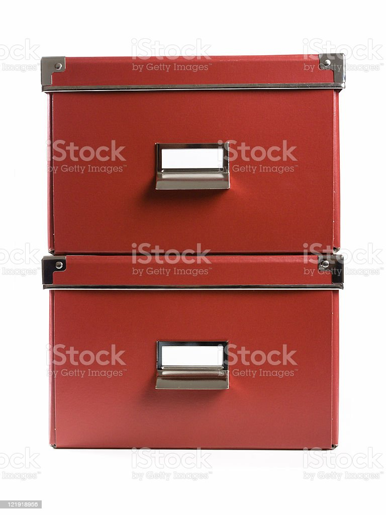 office boxes royalty-free stock photo
